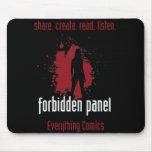 Forbidden Panel Mousepad