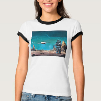 Forbidden Planet Deluxe Retro T-shirt. T-Shirt