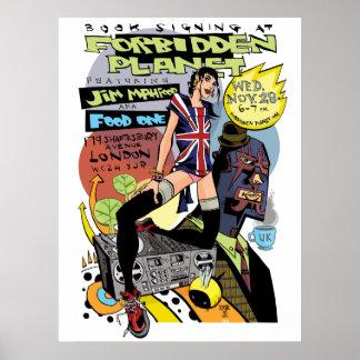 Forbidden Planet Print/Poster Poster