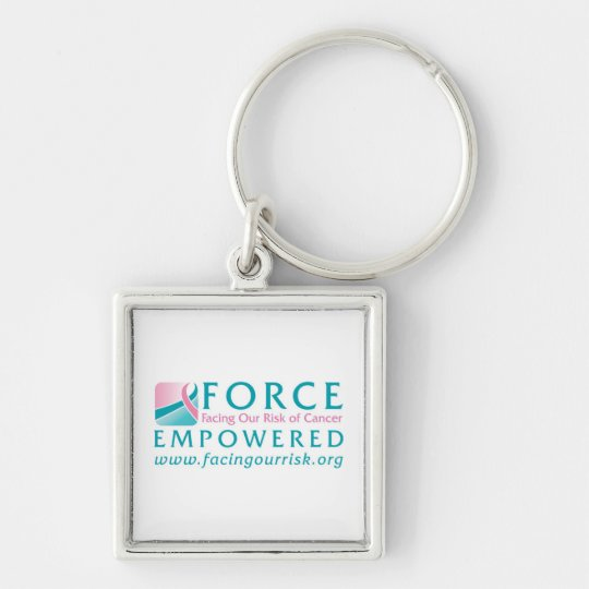 FORCE Facing Our Risk of Cancer Empowered Keychain