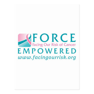 FORCE Facing Our Risk of Cancer Empowered Postcard