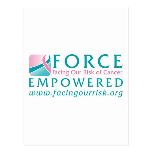 FORCE Facing Our Risk of Cancer Empowered Post Card
