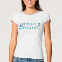 FORCE Facing Our Risk of Cancer Empowered tee