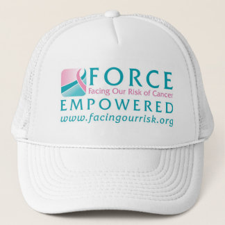 FORCE Facing Our Risk of Cancer Empowered Trucker Hat