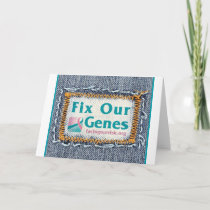 FORCE Fix Our Genes notecard