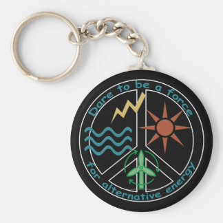 Force for Alternative Energy Keychain