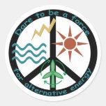 Force for Alternative Energy Sticker