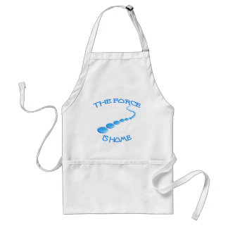 Force is Home Frisbee Apron