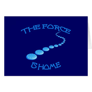 Force is Home Frisbee Cards