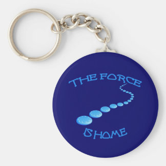 Force is Home Frisbee Keychain