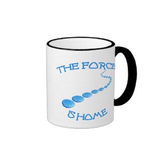 Force is Home Frisbee Ringer Mug