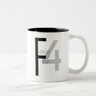 Force of Four mug