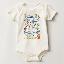Force of Nature & Voice for Animals Baby Bodysuit