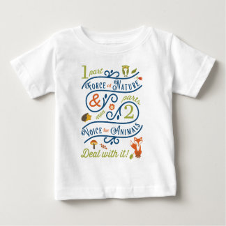 Force of Nature & Voice for Animals Baby T-Shirt