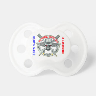 FORCE RECON BABY PACIFIER