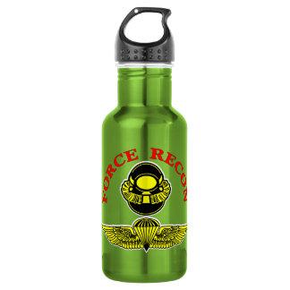 Force Recon Bubblehead Jumpwings 18oz Water Bottle