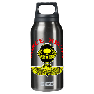 Force Recon Bubblehead Jumpwings 10 Oz Insulated SIGG Thermos Water Bottle
