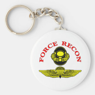 Force Recon Diver Jump Keychain