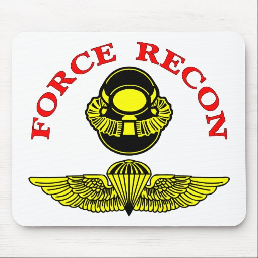 Force Recon Diver Jump Mouse Pads