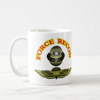 Force Recon Diver Jump Classic White Coffee Mug