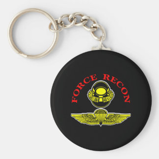 Force Recon Diver Jumpblack Keychain
