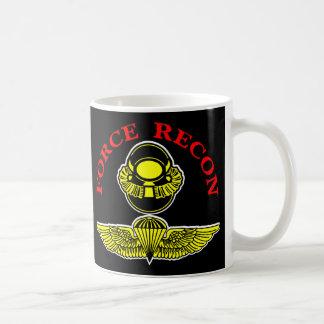 Force Recon Diver Jumpblack Classic White Coffee Mug