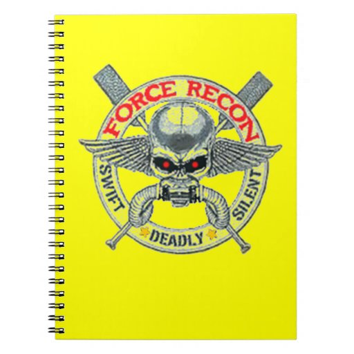 FORCE RECON NOTE BOOKS