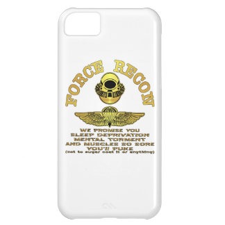 Force Recon We Promise You…. iPhone 5C Cover