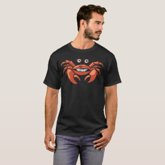 """""""Forced Smiling Crab"""" Summer T-Shirt"""
