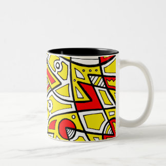 Forceful Fair-Minded Prominent Sunny Two-Tone Coffee Mug