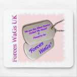 Forces WaGs UK Mouse Pads