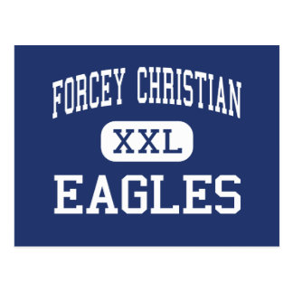 Forcey Christian Eagles Middle Silver Spring Postcard