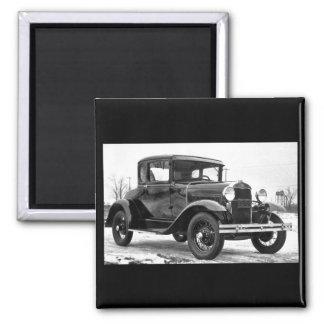 Ford 1930 modela un cupé - B&W Imán Para Frigorífico
