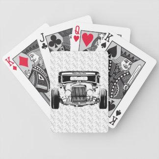 Ford 1931 modela un coche de carreras FBW de la re Baraja Cartas De Poker
