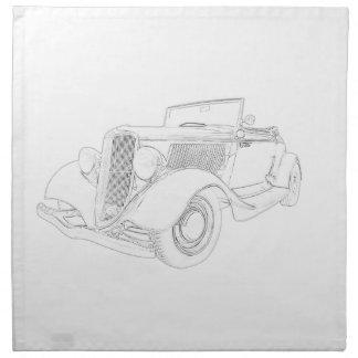 Ford 1932 servilleta