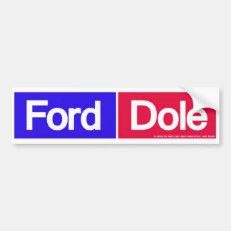 Ford 1976 Dole para el presidente pegatina para el Pegatina Para Auto