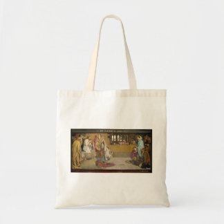 Ford Brown: Cartoon for the Baptism of Edwin Tote Bag
