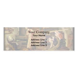 Ford Brown- Crabtree watching the Transit of Venus Business Card Template