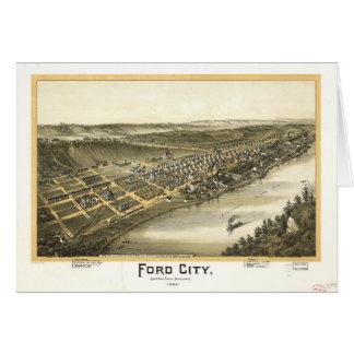 Ford City Pennsylvania (1896) Card