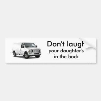 FORD_ECONOLINE VAN_2009_4PVYZ, no ríen, usted… Pegatina Para Auto