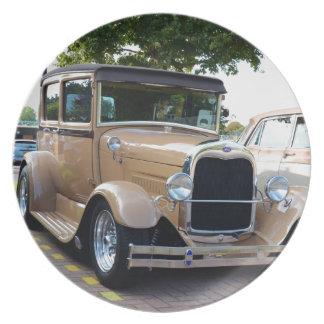 Ford Hot Rod Sedan Party Plates