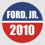 FORD, JR. 2010 PEGATINAS