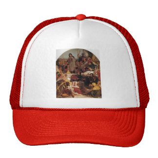 Ford Madox Brown- Chaucer at Court of Edward III Trucker Hat