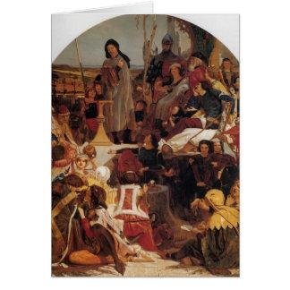 Ford Madox Brown Chaucer en la corte de Edward III Felicitación