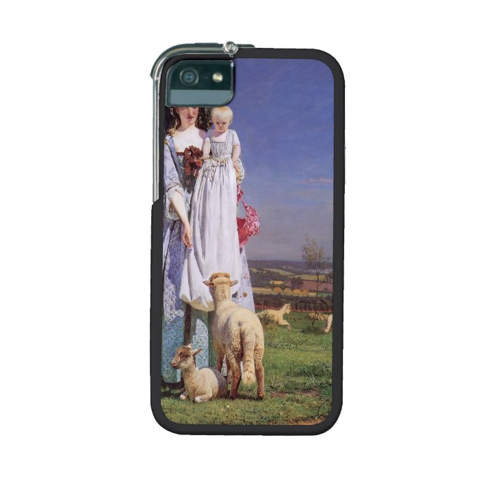 Ford Madox Brown Pretty Baa Lambs Cover For Iphone 5 On Popscreen