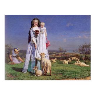 Ford Madox Brown- Pretty Baa-Lambs Postcard