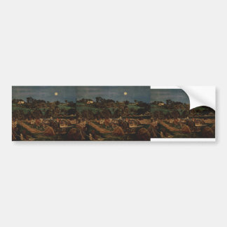 Ford Madox Brown- The hay harvest Bumper Stickers