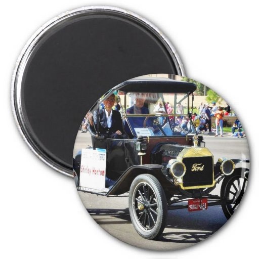 Ford Model T Cars Parades Magnet