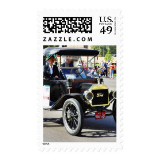 Ford Model T Cars Parades Stamp
