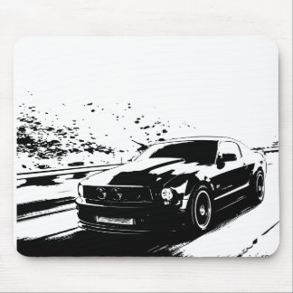 Ford Mustang GT Coupe Mouse Pad